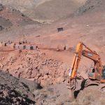معرفی معدن گرانیت قرمز سارو